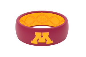 Original College Minnesota Full - Groove Life Silicone Wedding Rings