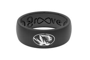 Original College Missouri - Groove Life Silicone Wedding Rings