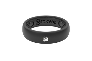 Thin College Montana - Groove Life Silicone Wedding Rings