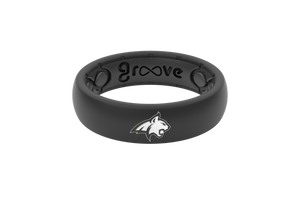 Thin College Montana State - Groove Life Silicone Wedding Rings