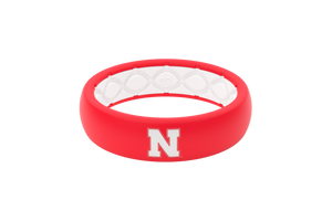 Thin College Nebraska - Groove Life Silicone Wedding Rings