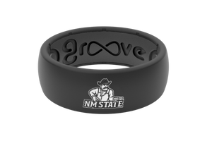 Original College New Mexico State - Groove Life Silicone Wedding Rings