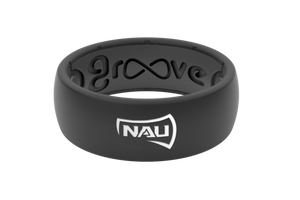 Original College Northern Arizona - Groove Life Silicone Wedding Rings
