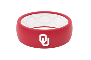 Original College Oklahoma - Groove Life Silicone Wedding Rings