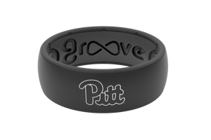 Original College Pittsburgh - Groove Life Silicone Wedding Rings
