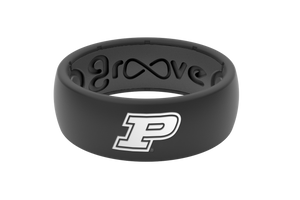 Original College Purdue - Groove Life Silicone Wedding Rings