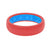 Raspberry Womens Silicone Wedding Rings