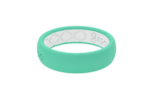 Seafoam Silicone Wedding Rings