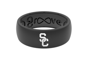 Original College Southern California - Groove Life Silicone Wedding Rings