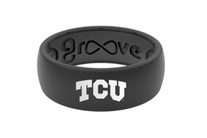 Original College TCU Full - Groove Life Silicone Wedding Rings