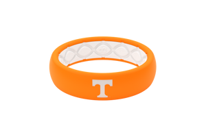 Tennessee Collegiate Silicone Rings Thin