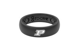 Thin College Purdue - Groove Life Silicone Wedding Rings