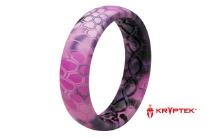 Thin Camo Kryptek Siren - Groove Life Silicone Wedding Rings
