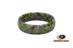 **DISCONTINUED** Mossy Oak Camo Silicone Rings - Obsession - Thin **DISCONTINUED** - Groove Life Silicone Wedding Rings
