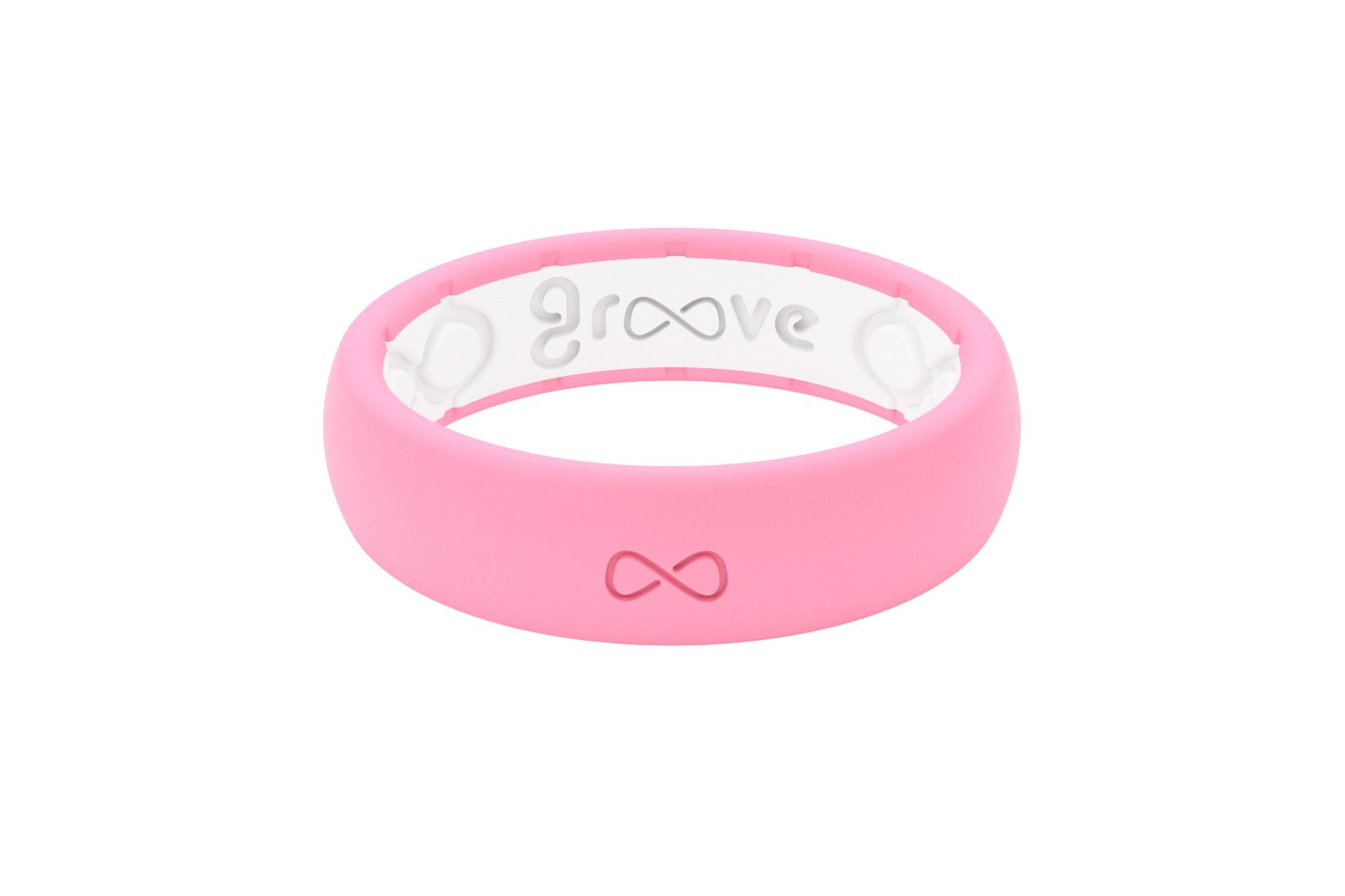 Groove Silicone Wedding Band | Punchy Pink | Groove Life | Silicone ...