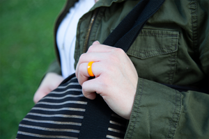 Thin Tennessee Collegiate Silicone Rings