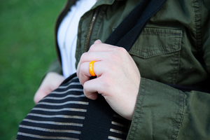 Thin Tennessee Vols Collegiate Silicone Rings