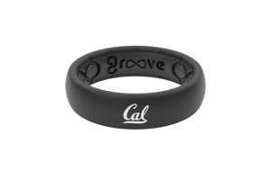 Thin College California Berkeley - Groove Life Silicone Wedding Rings