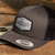 Trout Black Mesh Trucker Hat Adventure Gear