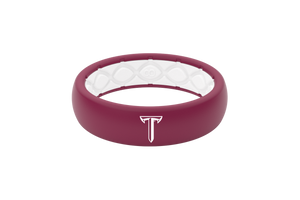 Thin College Troy - Groove Life Silicone Wedding Rings