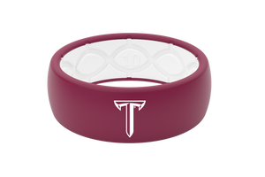 Original College Troy - Groove Life Silicone Wedding Rings