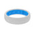 Thin Solid Snow - Groove Life Silicone Wedding Rings