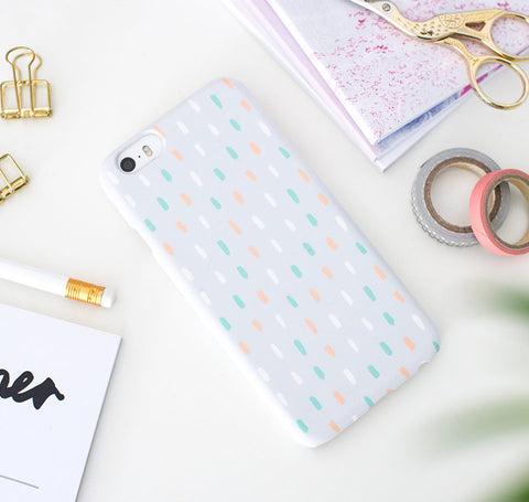 Candy Drips (light) phone case