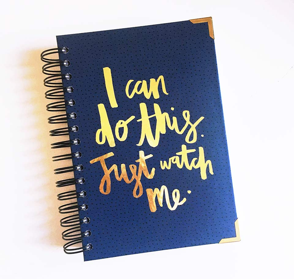 I can do this - Blog planner