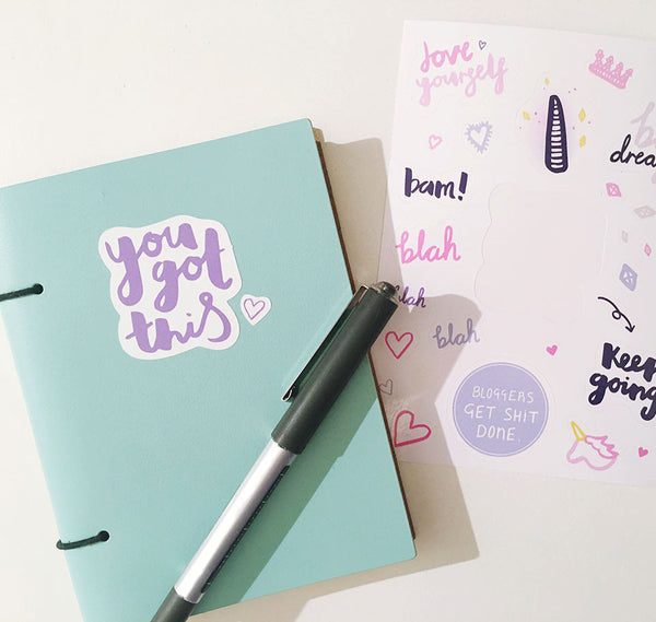 You got this! Sticker Sheet