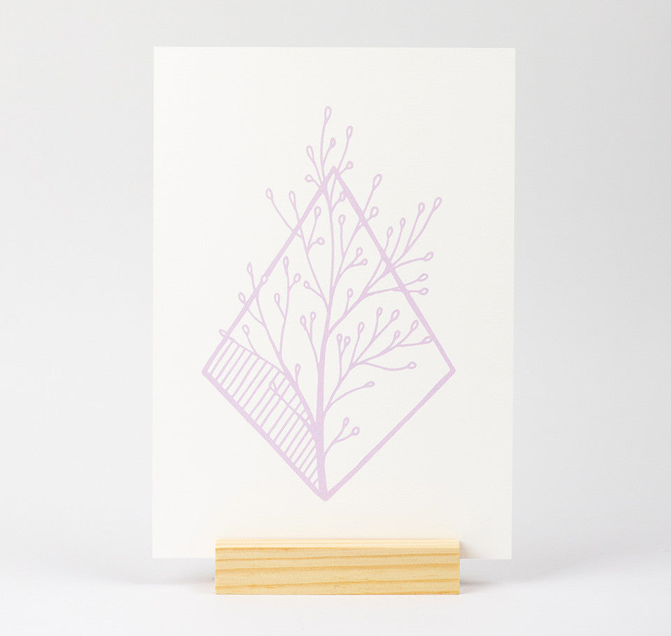 A5 Willow Print
