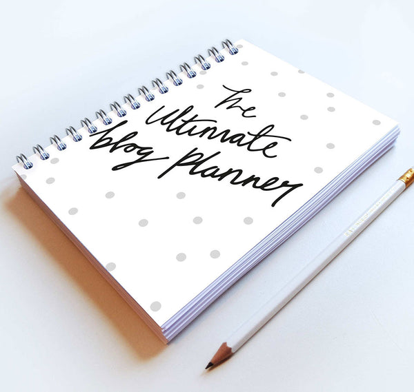 The Ultimate Blog Planner (Spotty cover)