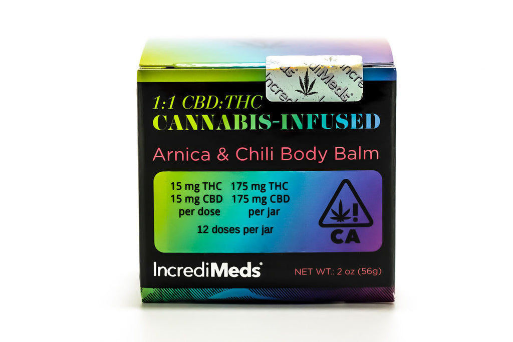 Arnica & Chili Body Balm - 1:1 CBD/THC