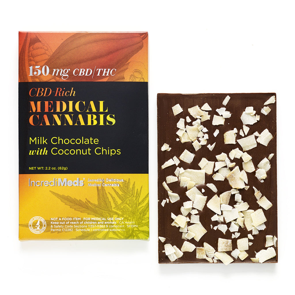Milk Chocolate Bar with Coconut Chips