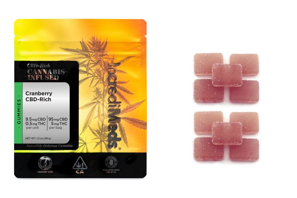 CBD 18:1 Cranberry Gummies