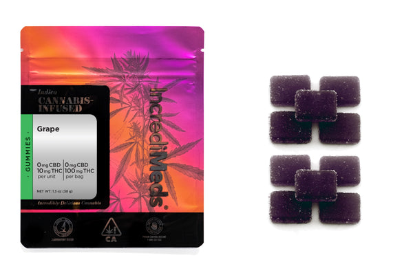 Indica Grape Gummies