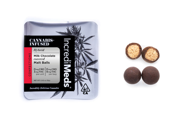 Single Dose Malt Balls in Milk Chocolate