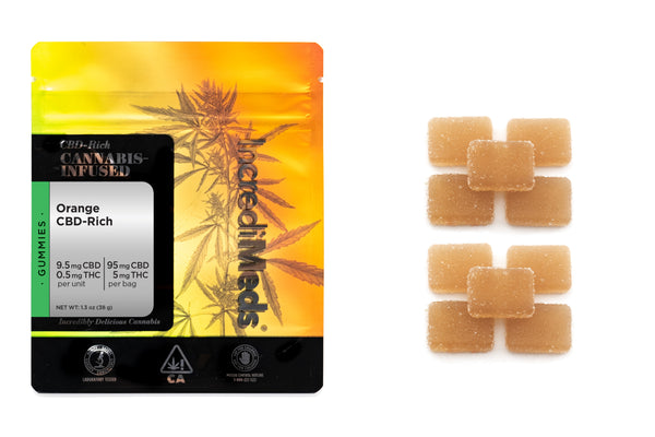 CBD 18:1 Orange Gummies