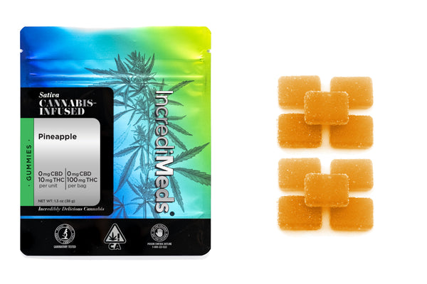 Sativa Pineapple Gummies