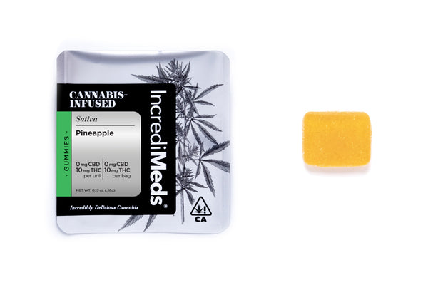 Single Dose Pineapple Gummy