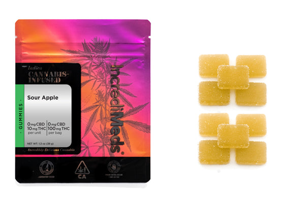 Indica Sour Apple Gummies