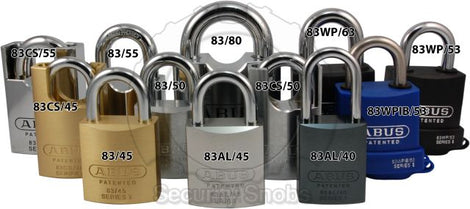 Abus Keyed To Differ Padlocks