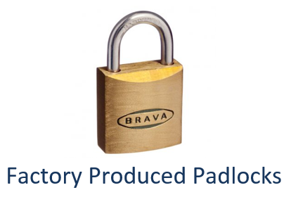 Factory Keyed Alike Padlocks