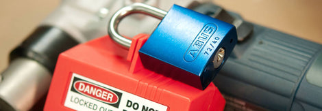Abus Coloured Keyed Padlocks