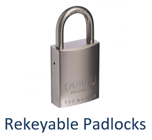 Rekeyable Keyed Alike Padlocks
