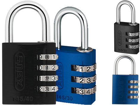 Abus Wheel Type Combination Locks