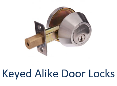 Keyed Alike Door Lock