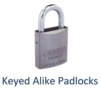 Keyed Alike Padlock