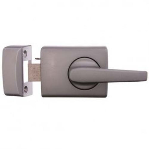 Lockwood 002 Lever Deadlatch - Satin Chrome Pearl (Metal Doors) [0023L1SC]