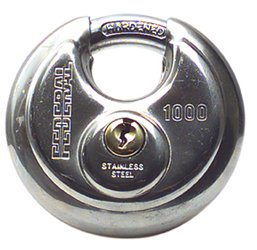 Federal 70/25 Round Body Padlock - Keyed Alike [1000KA1]