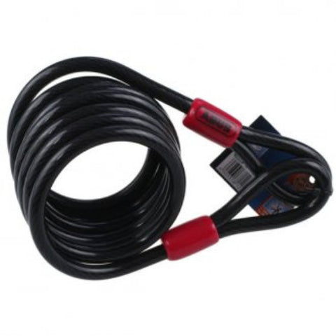 Abus Loop Cable Black - 8mm x 185cm [1850185]